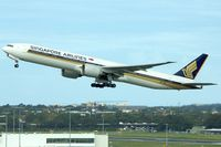 9V-SWL @ YSSY - 2007 Boeing 777-312ER, c/n: 34577 at Sydney