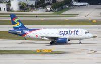 N515NK @ FLL - Spirit A319