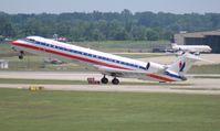 N518AE @ DTW - American Eagle CRJ-700