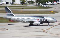 N522NK @ FLL - Spirit A319