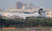 N526AS @ FLL - Alaska 737-800
