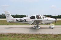 N535LB @ LAL - Cirrus SR22 - by Florida Metal