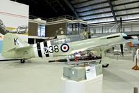 WJ109 @ YSNW - Displayed at the  Australian Fleet Air Arm Museum,  a military aerospace museum located at the naval air station HMAS Albatross, near Nowra, New South Wales
