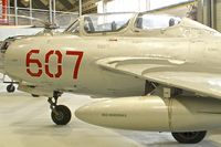 607 @ YSNW - Displayed at the  Australian Fleet Air Arm Museum,  a military aerospace museum located at the naval air station HMAS Albatross, near Nowra, New South Wales - by Terry Fletcher