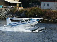 C-FFMA @ CAE9 - FMA landing in Bamfield BC. - by Marc Phillips