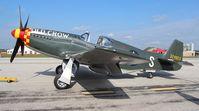 N551E @ YIP - P-51B Old Crow - by Florida Metal