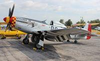 N551J @ YIP - Gentleman Jim P-51D
