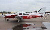 N555UJ @ LAL - Piper PA-34-220T