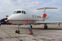 N559L @ YIP - Little Caesars Gulfstream II
