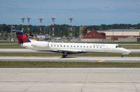 N565RP @ DTW - Delta Connection E145LR