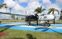 931 @ TMB - A-26C of the Free Cuban Air Force - dedicated to my long time girlfriend Maria Evangelina Castillo, who had an uncle who was a crew member of one of these planes used in the Bay of Pigs invasion.