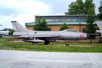 01 - Sukhoi Su-7BM [5301] Krakow Museum Malopolskie~SP 20/05/2004 - by Ray Barber
