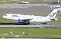 N586JB @ TPA - Jet Blue I Love Blue York A320