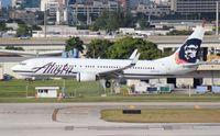 N597AS @ FLL - Alaska 737-800
