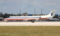 N601DW @ MIA - American Eagle E145LR - by Florida Metal