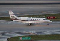 N615QS @ MIA - Net Jets Excel