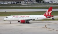N625VA @ FLL - Virgin American A320