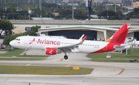 N632AV @ FLL - Avianca A320