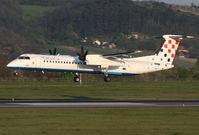 9A-CQD @ LOWW - Croatia DHC8 - by Thomas Ranner