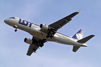 SP-LIB @ EGLL - Embraer Emb-175-200LR [17000132] (LOT Polish Airlines) Home~G 20/08/2011. On approach 27R.