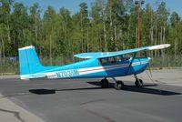 N7031M @ IYS - C.175 at ramp of Wasilla airport AK - by Jack Poelstra