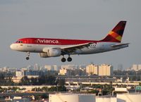 N634MX @ MIA - Avianca A319