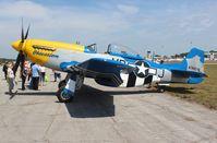 N651JM @ EVB - P-51D Obsession