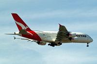 VH-OQG @ EGLL - Airbus A380-841 [047] (QANTAS) Home~G 27/06/2011. On approach 27L