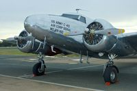 VH-HID @ YTEM - 1937 Lockheed 12A Electra Junior, c/n: 1262 at Temora