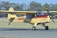 VH-KCR @ YTEM - At Temora Airport during the 40th Anniversary Fly-In of the Australian Antique Aircraft Association