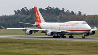 B-2437 @ ELLX - departure via RW24 - by Friedrich Becker