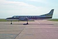 N184SW @ GCK - N184SW Fairchild SA227-AC GCK 8.7.05 - by Brian Johnstone