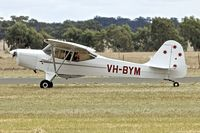 VH-BYM @ YTEM - At Temora Airport during the 40th Anniversary Fly-In of the Australian Antique Aircraft Association