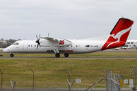 VH-SCE @ YSSY - taxiing to 34R - by Bill Mallinson