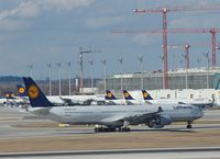 D-AIHP @ EDDM - An intoxication in blue and white and yellow.... - by Holger Zengler