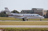 N681QS @ ORL - Net Jets C560XL