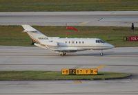 N682DK @ FLL - Hawker 800XP