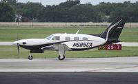 N685CA @ ORL - Piper PA-46-500TP
