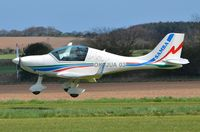 OK-JUA 03 @ X3CX - About to touch down at Northrepps. - by Graham Reeve