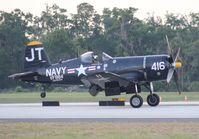 N713JT @ LAL - Korean War Hero Corsair