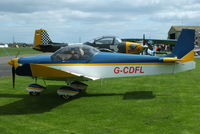 G-CDFL @ EGBR - at Breighton's 'Early Bird' Fly-in 13/04/14 - by Chris Hall