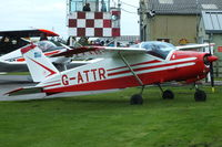 G-ATTR @ EGBR - at Breighton's 'Early Bird' Fly-in 13/04/14 - by Chris Hall