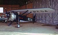 F-BBZR @ LFBI - Morane-Saulnier MS.317 [6512/258] Poitiers-Biard~F 19/09/1982. Taken from a slide.