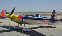 N423KC @ KWJF - Waiting to perform at the Los Angeles County Airshow 2014 - by Todd Royer