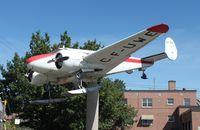 CF-UWE @ CPX8 - Beech UC-45F - by Mark Pasqualino