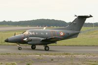 108 @ LFOA - Embraer EMB-121AA Xingu, Taxiing before take off,  Avord Air Base 702 (LFOA)  Open day in june 2012 - by Yves-Q