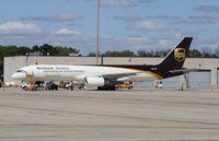 N472UP @ KRFD - Boeing 757-200F - by Mark Pasqualino