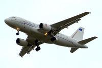 MM62243 @ EGLL - Airbus A319-115X [2507] (Italian Air Force) Home~G 27/06/2011. On approach 27R.