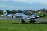 G-BYJT @ EGBR - at Breighton's 'Early Bird' Fly-in 13/04/14 - by Chris Hall