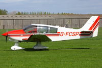 G-FCSP @ EGBR - at Breighton's 'Early Bird' Fly-in 13/04/14 - by Chris Hall